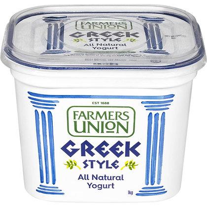 Farmers Union Greek Style Yoghurt 1KG (6)