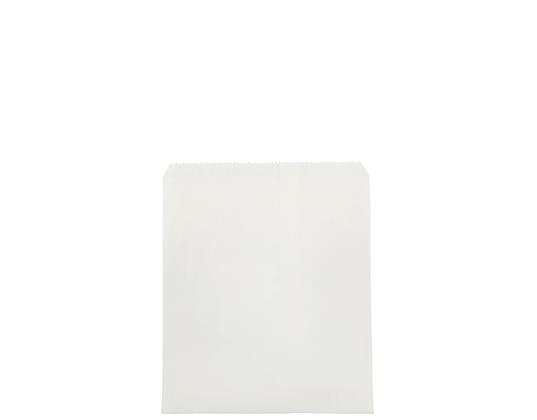 #4 Flat White Paper Bag White, Unstrung (500's)