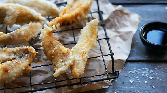 Tempura Butterfly Whiting Fillets 2.5KG (60GX40)