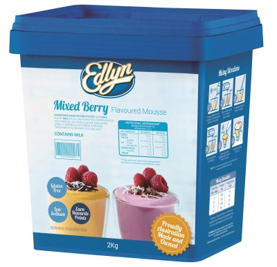 Edlyn Mixed Berry Mousse 2KG