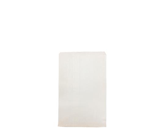#2 Flat White Paper Bag White Strung (500's)