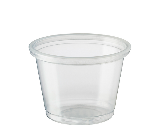 Small Portion Control Cup - 30ml / 1oz Clear (250's)