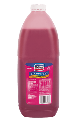 Cottees Strawberry Topping 3L (4)