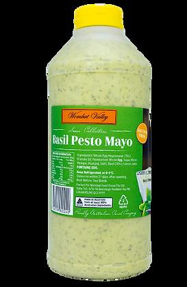 Wombat Valley Basil Pesto Mayonnaise 1KG (6)