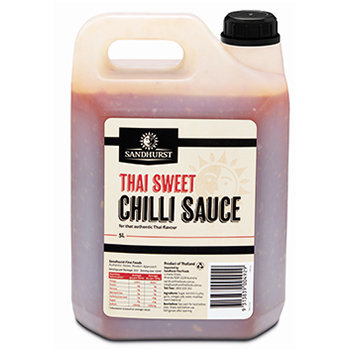 Sandhurst Thai Sweet Chilli Sauce 5L