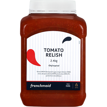 French Maid Tomato Relish 2.4KG (6)