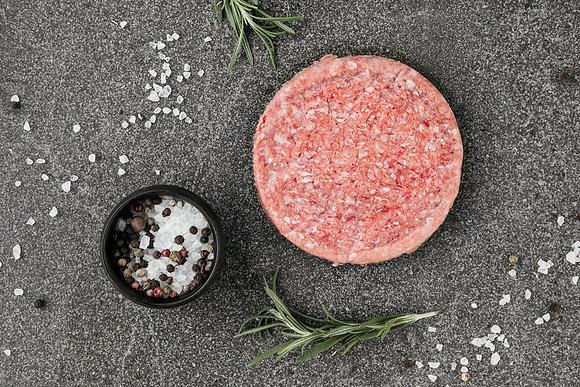 Fresh Beef Burger Plain 180G R/W (10)