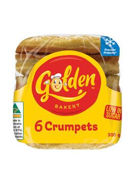 Golden Crumpet Plain Round (50GX6) (12)