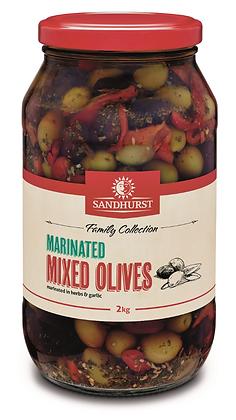 Sandhurst Marinated Mixed Olives 2KG