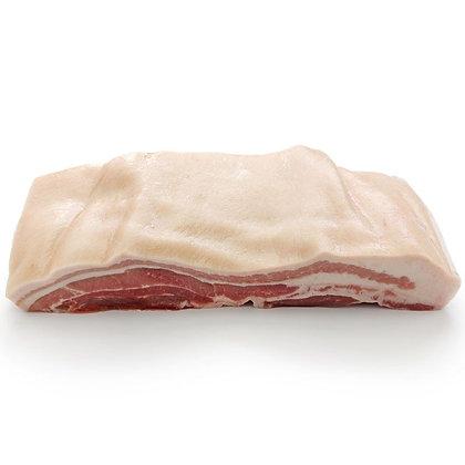 Fresh Pork Belly Boneless Rind On Whole R/W