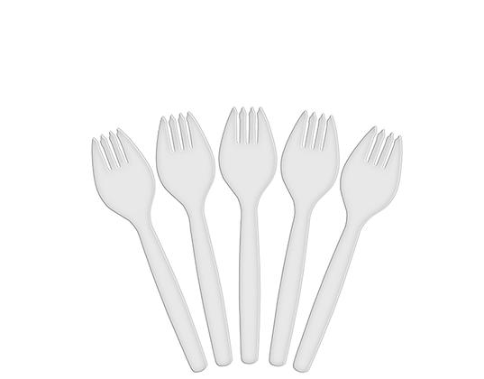 Costwise® Plastic Spork White 100's (10)