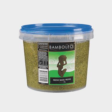 Bamboleo Fresh Basil Pesto 2KG