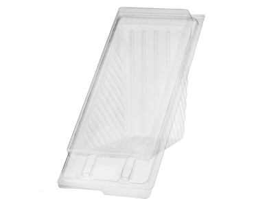 Eco-Smart® Bettaseal® Sandwich Wedge - Extra Large P.E.T. Clear (100's)