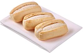 Speedibake Dinner Roll White - Par Baked (35GX160)