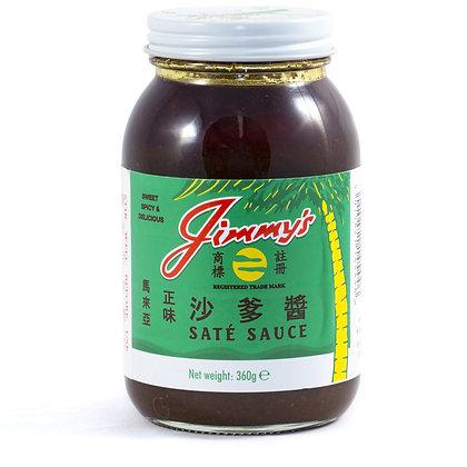 Jimmys Satay Sauce 360G (12)
