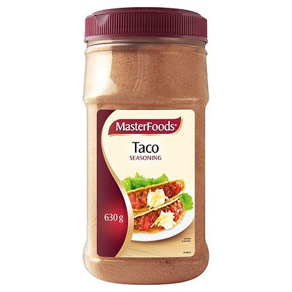 Masterfoods Taco Seasoning 630G (6)