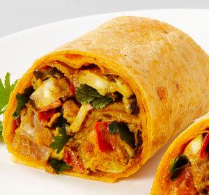 """Mission 10"""" Tomato Tortillas (12 wraps)"""