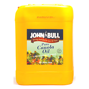 John Bull Canola Oil Jerry Can 20L