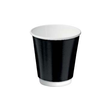 Castaway® Double Wall Insulcups® Coffee 8oz Black (25's)