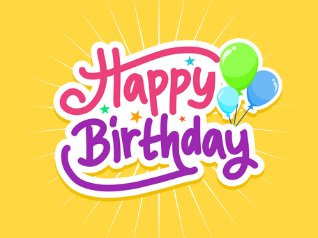 Birthday Felicitations