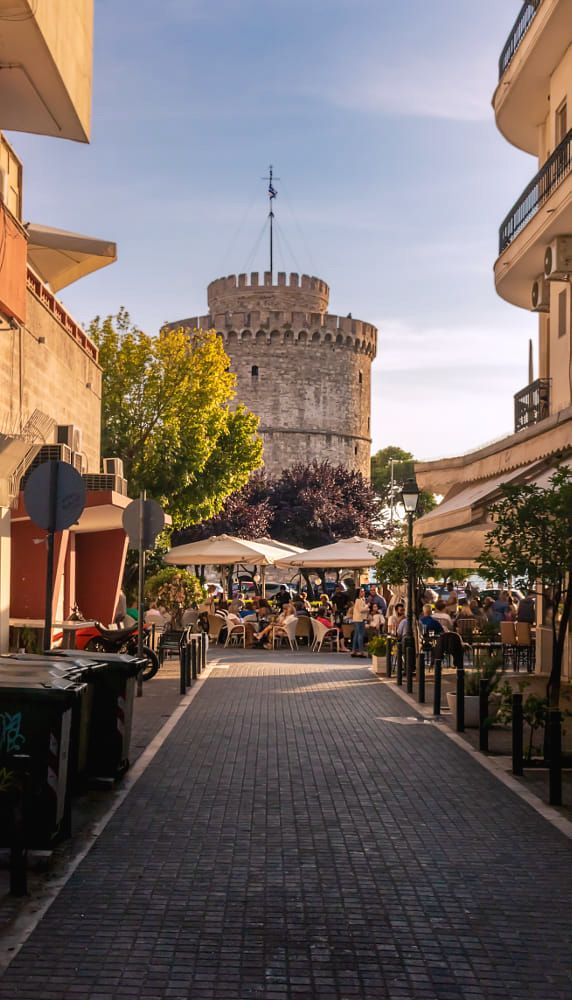 Lefkos Pyrgos, Thessaloniki