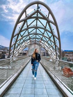Bridge of Peace, Tbilisi