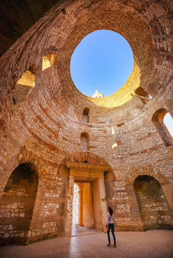 Split, Croatia_ The Diocletian's Palace.