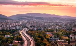 Mountain Panorama Sofia Bulgaria
