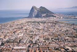 Gibraltar border town La Linea sent into