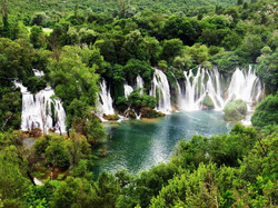 Mostar and Kravica Waterfalls with Turki