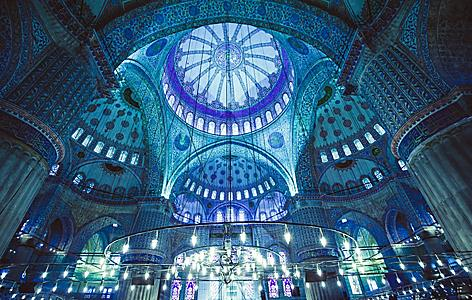 turkey-istanbul-blue-mosque-interior