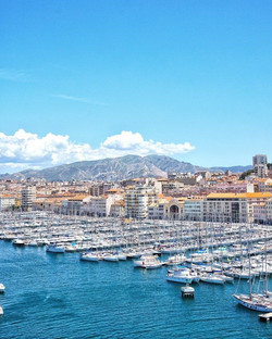 10 Photos and a Postcard from Marseilles