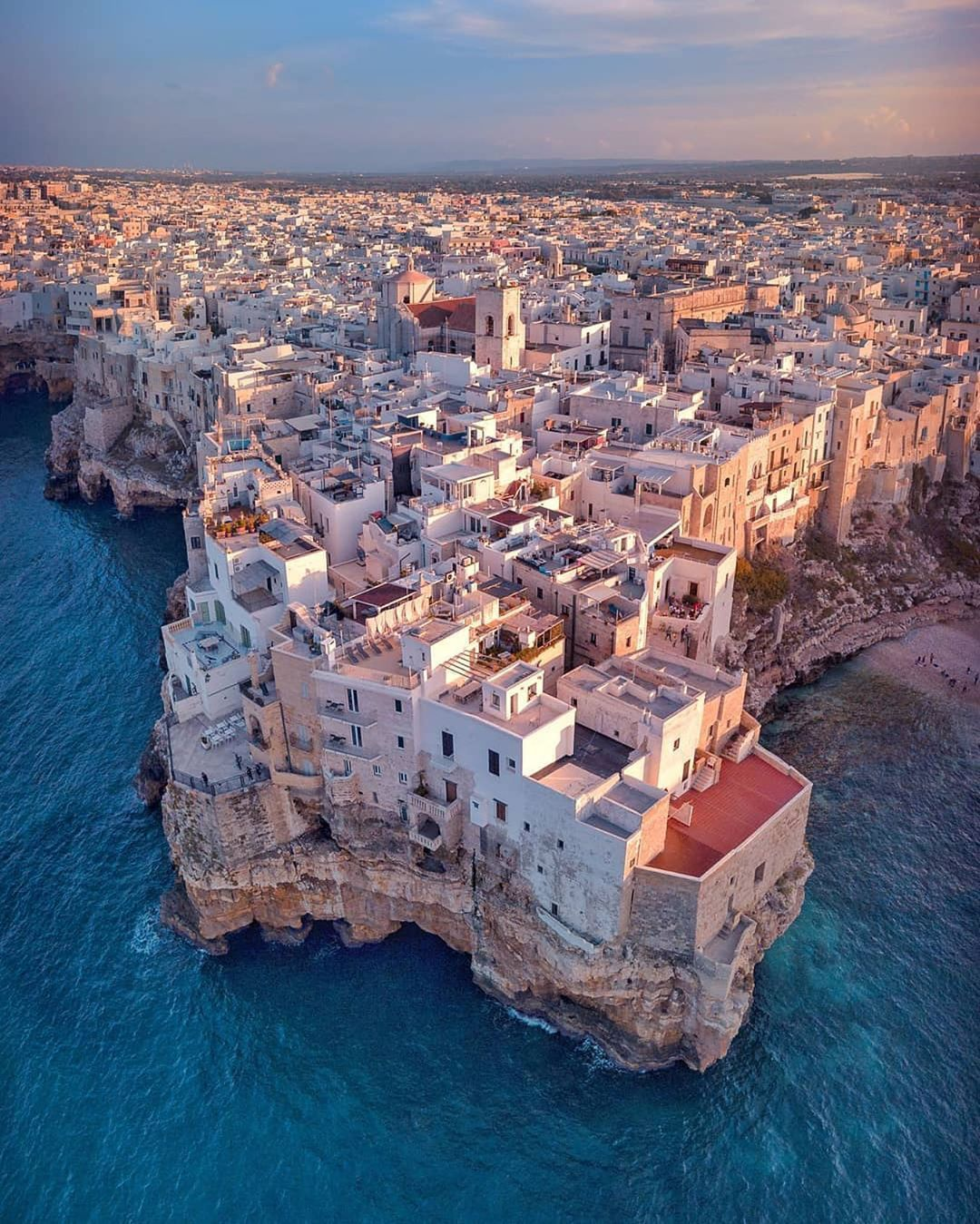The amazing Polignano a Mare 😍 Bari, It