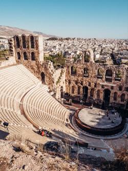 Odéon d'Hérode Atticus, Athènes (Grèce).