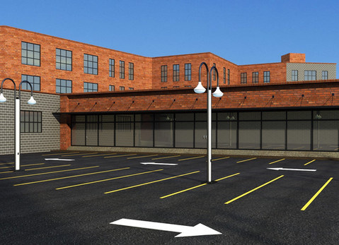 Bohack Square 3D Rendering