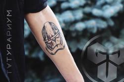 Фото татуировки, штурмовик из звездных в