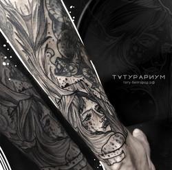 Foto_tatuirovki_portret_devushki_v_stile