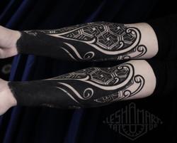 Фото исправления татвироки на руке у пар