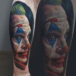 Фото татуировки, Реалистичный, цветной,