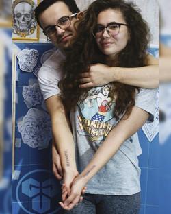 Фото татуировки для пары, дата римскмими