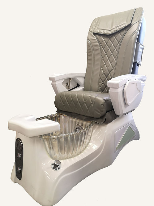 Cream Pedicure Chair