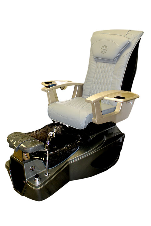 Obsidian Pedicure Spa Chair