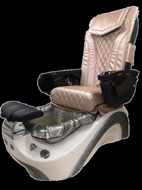 Sapele Pedicure Chair