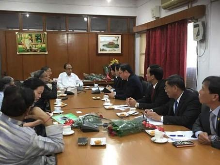 Vietnam delegation meets Suravaram