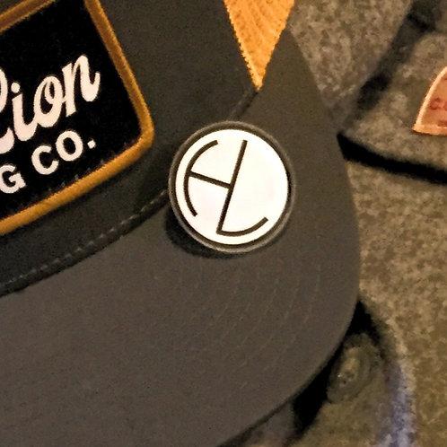 Half Lion Logo Pin