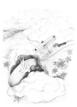 Turner Flight Logs book illustration