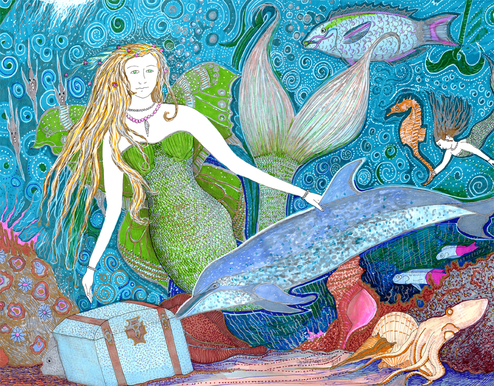 Mermaid illustration