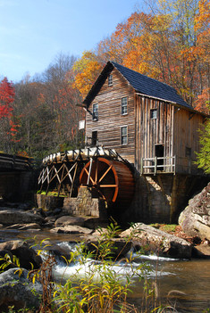 Babcock Grist Mill, West Virginia