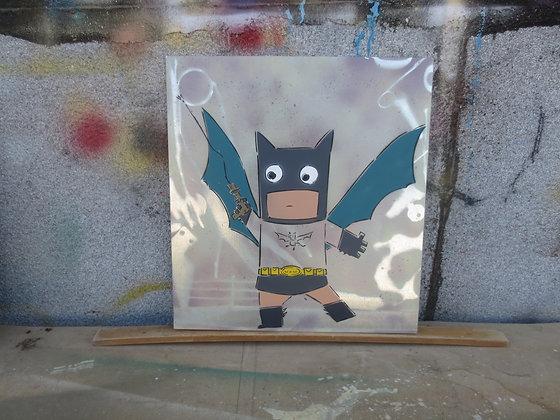 Batman Kufsonim on Metal by Sened 37x40cm
