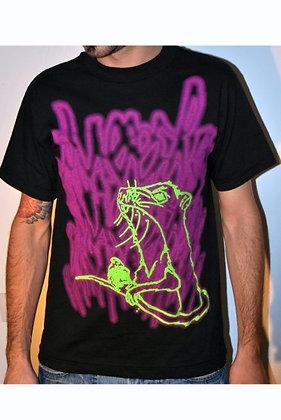 MASSIVE WEAR - Men's Large T-Shirt - 100% cotton